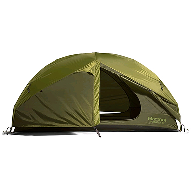 Палатка двухместная Marmot Tungsten 2P EU green shadow/moss