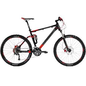 "Велосипед горный Haibike Attack FS - 26"", рама - 47 см, черно-серый (4182027447)"