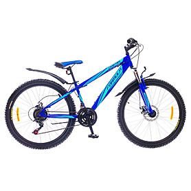 """Велосипед подростковый горный Formula Dakar 2015 - 26"""", рама - 15"""", синий (PCT*-FR-26-003-1)"""