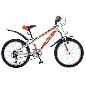 """Велосипед подростковый горный Formula Dakar 20"""" 2015 бело-оранжевый рама - 10,5"""""""