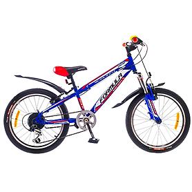 """Велосипед подростковый горный Formula Dakar 2015 - 20"""", рама - 10,5"""", синий (PCT*-FR-20-002-1)"""