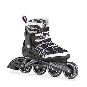 Коньки роликовые Rollerblade SIRIO COMP W 2015 black/purple - 40.5