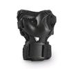 Коньки роликовые раздвижные Rollerblade Spitfire Cube 2015 black/red + набор защиты - фото 4