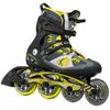 Коньки роликовые K2 VO2 100 X Pro 2015 черно-желтые - фото 1