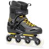 Коньки роликовые Rollerblade Fusion Gm 2014 черно-желтые - фото 1