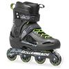 Коньки роликовые Rollerblade Fusion X3 2014 черно-зеленые - фото 1