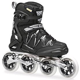 Коньки роликовые Rollerblade Igniter 100 2014 черно-серебристый