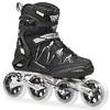 Коньки роликовые Rollerblade Igniter 100 2014 черно-серебристый - фото 1