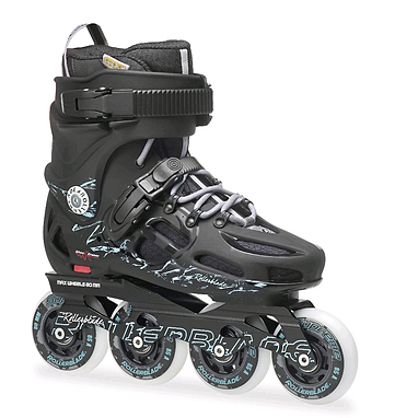 Коньки роликовые Rollerblade Twister 80 W 2014 black/green