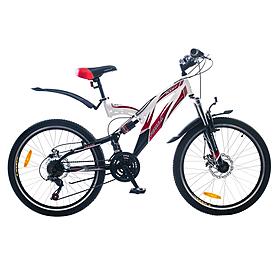 """Велосипед горный подростковый Formula Rodeo AM2 24"""" 2015 черно-белый рама - 17"""""""