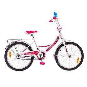 """Велосипед детский Formula Fitness 20"""" 2015 бело-розовый рама - 13"""""""
