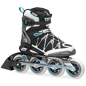 Коньки роликовые Rollerblade Igniter 90 XT W 2014 черно-голубые
