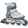 Коньки роликовые Rollerblade Macroblade W 2014 серо-голубые - фото 1