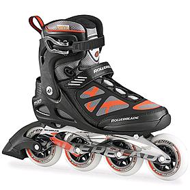 Коньки роликовые Rollerblade Macroblade 90 2015 черно-красные