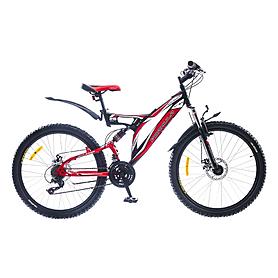 """Велосипед горный Formula Outlander AM2 26"""" 2015 черно-красный рама - 18"""""""