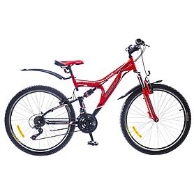 """Велосипед горный Formula Safari AM2 26"""" 2015 черно-красный рама - 18"""""""