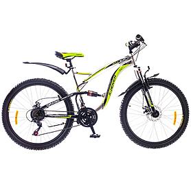 """Велосипед горный Formula X-Rover AM2 26"""" 2015 серо-зеленый рама - 18"""""""