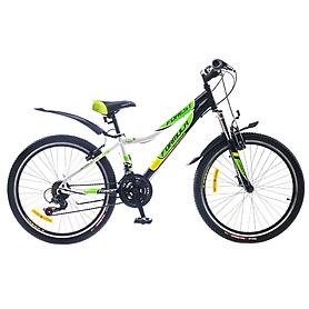 """Велосипед горный подростковый Formula Forest AM 24"""" 2015 черно-зеленый рама - 12"""""""