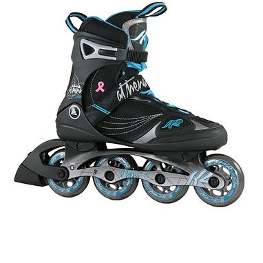 K2 Athena Speed 2014 черно-голубые