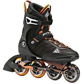 Фото 1 к товару Коньки роликовые K2 F.I.T. Pro 2014 черно-оранжевые