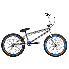 "Велосипед BMX Eastern Wolfdog 20"" 2014 chrome plate"