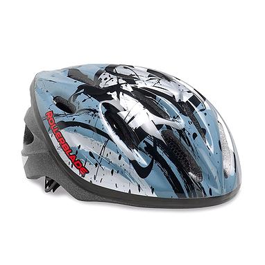 Шлем Rollerblade Workout JR серебристый с черным, размер - М