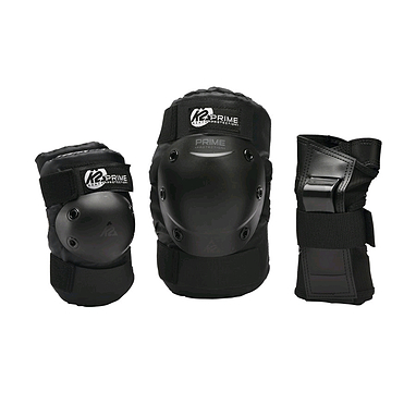 Защита для катания (комплект) K2 Prime M Pad Set черная, размер - S