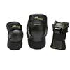 Защита для катания на роликах (комплект) K2 Prime M Pad Set черная с зеленым, размер - XL - фото 1