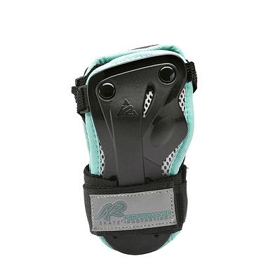 Защита для катания (запястье) К2 Prime M Wrist Guard черный с бирюзовым, размер - M