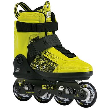 Коньки роликовые K2 II Capo 2013 черно-желтые