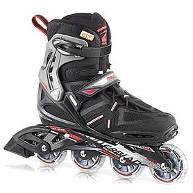 Коньки роликовые Rollerblade Spark Comp 2013 черно-красные - р. 45