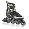 Коньки роликовые Rollerblade Spiritblade Comp 2013 черно-зеленые - фото 1