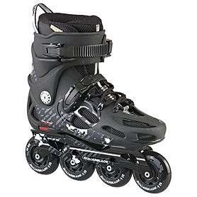Фото 1 к товару Коньки роликовые Rollerblade Twister 80 2013 черные