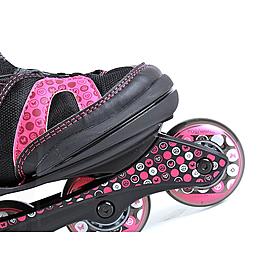 Фото 4 к товару Коньки роликовые детские K2 Charm BOA JR 2013 черно-розовые