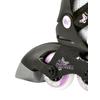Коньки роликовые детские K2 Charm Pack 2013 черно-белые - р. 32-37 - фото 3