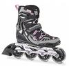 Коньки роликовые женские Rollerblade Spark XT 84 W 2013 черно-розовые - р. 38,5 - фото 1