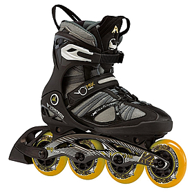 Коньки роликовые мужские K2 VO2 MAX M 2013 черно-оранжевые