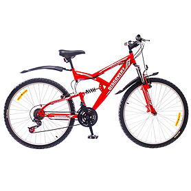 "Велосипед горный Discovery Canyon AM2 14G St 2015 - 26"", рама - 18"", красный (OPS-DIS-26-001-2)"