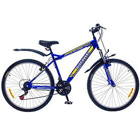 "Велосипед горный Discovery Trek AM 14G St 2015 - 26"", рама - 18"", синий (PCT*-DIS-26-007-2)"