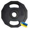 Диск олимпийский 15 кг Newt с хватами - 51 мм - фото 1