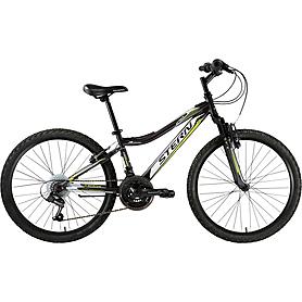 """Велосипед подростковый горный Stern Attack 2015 - 24"""", рама - 14"""", черно-белый (15ATT24)"""