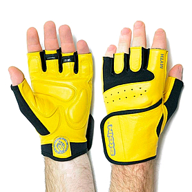 Перчатки спортивные Stein Myth GPT-2229 желтые