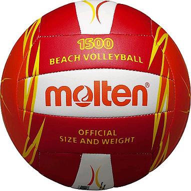 Мяч волейбольный пляжный Molten V5B1500-RO