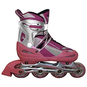 Коньки роликовые раздвижные Kepai F1-K03 розовые