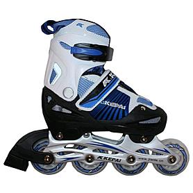 Коньки роликовые раздвижные Kepai F1-K08 синие