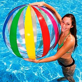 Фото 2 к товару Мяч надувной Intex 59065 (107 см)