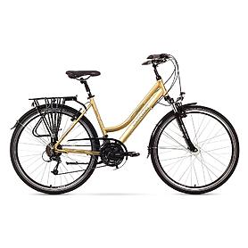 """Велосипед городской женский Romet Gazela 4.0 28"""" платиновый, рама - 17"""""""