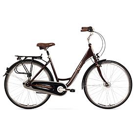 """Велосипед городской женский Romet Moderne 7 28"""" коричневый, рама - 17"""""""