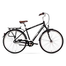"""Велосипед городской Romet Art Noveau 3  28"""" черно-белый, рама - 21"""""""