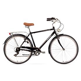 """Велосипед городской Romet Vintage M  28"""" черный, рама - 20"""""""